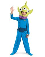 Toy Story - Alien Classic Toddler - Child Costume - 3T-4T