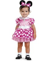 Mickey Mouse Clubhouse - Pink Minnie Mouse Infant Costume - 12-18 Months
