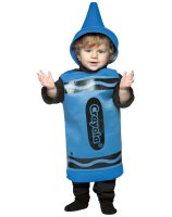 Blue Crayola Crayon Toddler Costume - 3-4T
