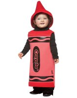 Red Crayola Crayon Toddler Costume - 3-4T
