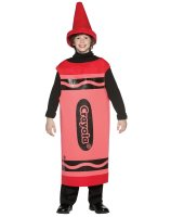 Red Crayola Crayon Tween Costume