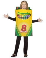 Crayola Crayon Box Child Costume - 7-10