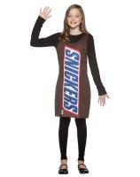 Snickers Tank Dress Tween - Teen Costume