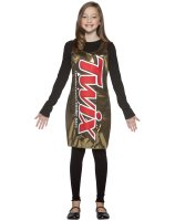Twix Tank Dress Tween - Teen Costume