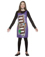 M & M's Dark Tank Dress Tween - Teen Costume