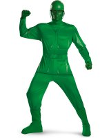 Disney Toy Story - Green Army Man Deluxe Plus Adult Costume
