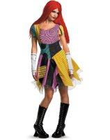 The Nightmare Before Christmas Sexy Sally Adult Costume - Small (4-6)