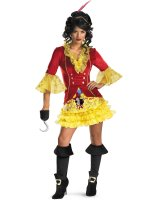 Sexy Captain Hook Adult Costume