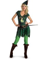 Sexy Peter Pan Adult Costume - Large (12-14)