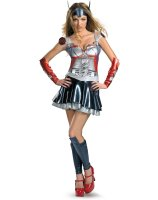 Transformers - Optimus Prime Sexy Deluxe Adult Costume