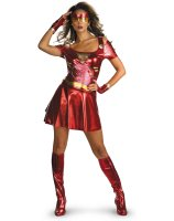Iron Man 2 2010 Movie - Ironette Sexy Adult Costume