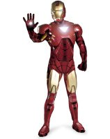 Iron Man 2 2010 Movie - Iron Man Mark 6 Super Deluxe Adult Costume - X-Large (42-46)