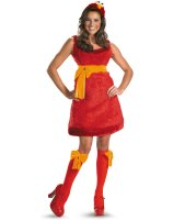 Sesame Street - Elmo Sassy Female Adult Costume