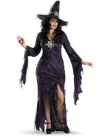 Sorceress Adult Plus Costume - X-Large (18-20)