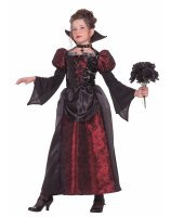 Miss Vampire Child Costume - Medium 8-10