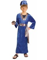 Blue Wiseman Child Costume - Large 12-14