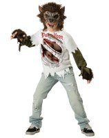 Werewolf Child Costume - Small 6
