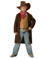 Rawhide Renegade Child Costume - Medium 8