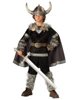Viking Warrior Child Costume - Medium 8