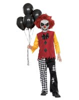 Last Laugh Clown Child Costume - Small (5-7)