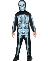 X-Ray Skeleton Child Costume - Medium (8-10)