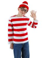 Where's Waldo Child Costume Kit - Large/X-Large