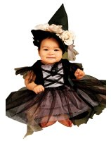 Lace Witch Infant - Toddler Costume - 0-9 Months