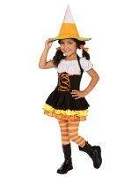 Little Candy Corn Witch Toddler - Child Costume - Child (4-6)