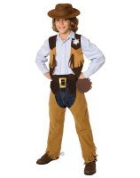 Cowboy Child Costume Kit - One Size (Fits Sizes 4-8)