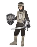 Knight Silver Child Costume Kit - One Size (Fits Sizes 4-8)