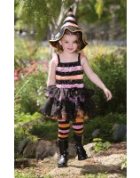 Striped Witch Child Costume