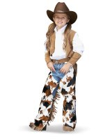 Cowboy - Cowgirl Child Costume - Small (4/6)