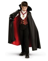 Transylvanian Vampire Child Costume - Medium (8-10)