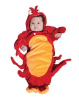 Lobster Bunting Infant Costume - 0-6 Months