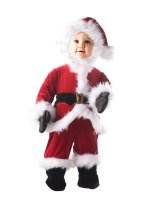 Little Santa Toddler - Child Costume - 2-4T