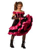 Can Can Dancer Child Costume - X-Large (14-16)