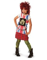80's Punk Child Costume - Large (10-12)