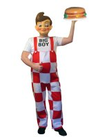 Big Boy Adult Costume