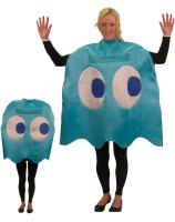Pac-Man Inky Deluxe Adult Costume - Standard (One Size)