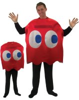 Pac-Man Blinky Deluxe Adult Costume - Standard (One Size)