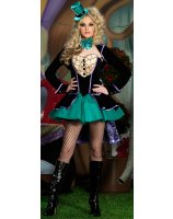 Mischievous Mad Hatter Deluxe Adult Costume