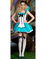 Tea Party Alice Deluxe Adult Costume