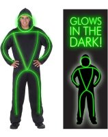 GlowMan Adult Costume - Medium