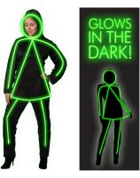GlowGirl Adult Costume - Medium/Large