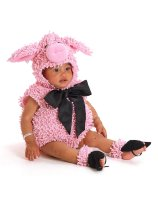 Squiggly Pig Infant - Toddler Costume - 18 Months/2T