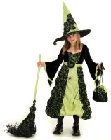 Rose Witch Child Costume