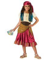 Gypsy Girl Child Costume - 10