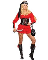 Sexy Pirate Wench Adult Costume
