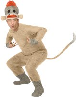 Sock Monkey Adult Costume - Standard