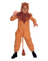The Wizard of Oz Cowardly Lion Child Costume - Large